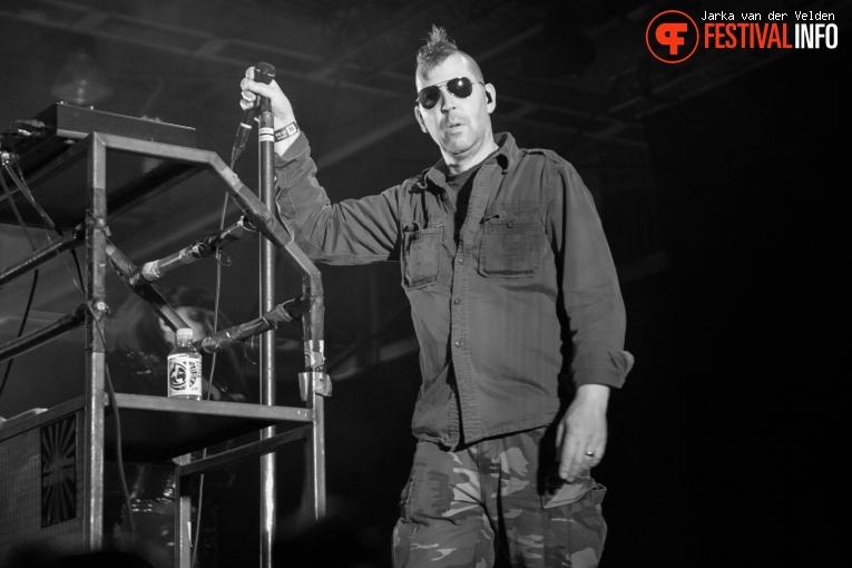 KMFDM op M'era Luna 2017 - Zaterdag foto