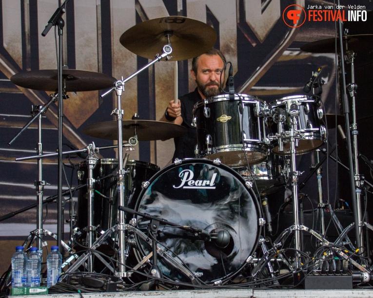 Aurdrey Horne op Nirwana Tuinfeest 2017 - Vrijdag foto