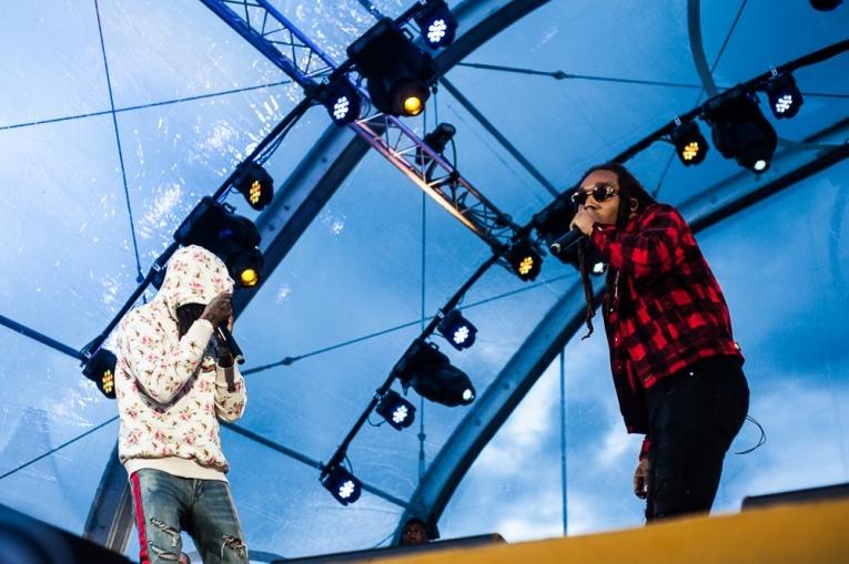 Migos op Encore Festival 2017 foto