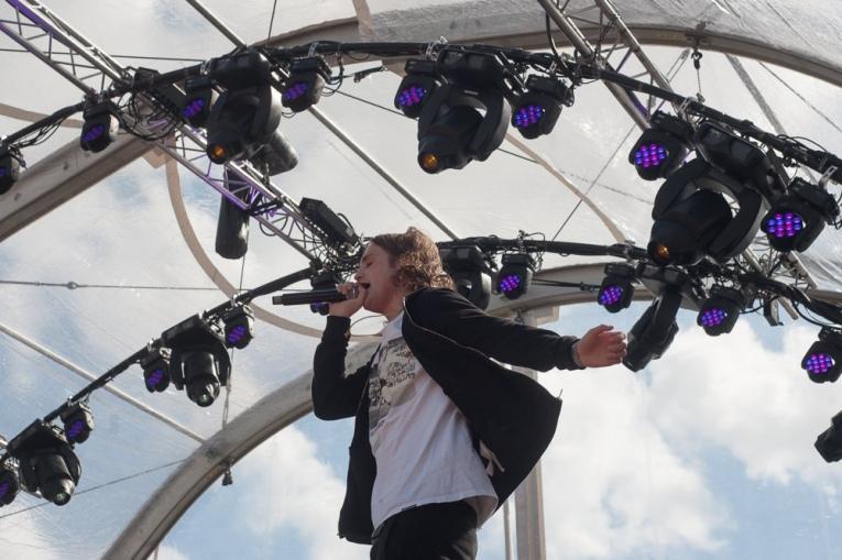 Kevin op Encore Festival 2017 foto