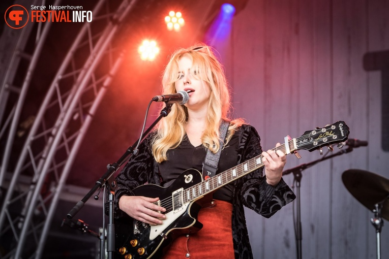 Holly Macve op Tuckerville 2017 foto