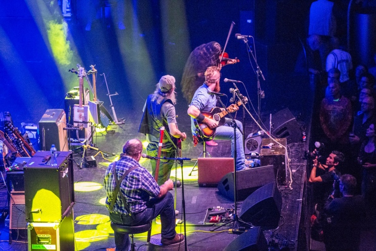 Foto Ben Miller Band op Ramblin' Roots 2017