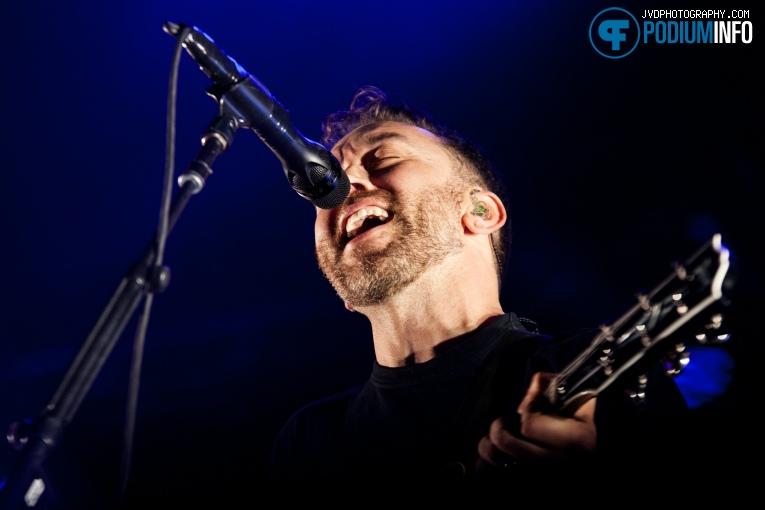 Rise Against op Rise Against - 12/11 - Afas Live foto