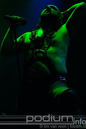 Turbonegro op Marilyn Manson - 12/12 - Brabanthallen foto