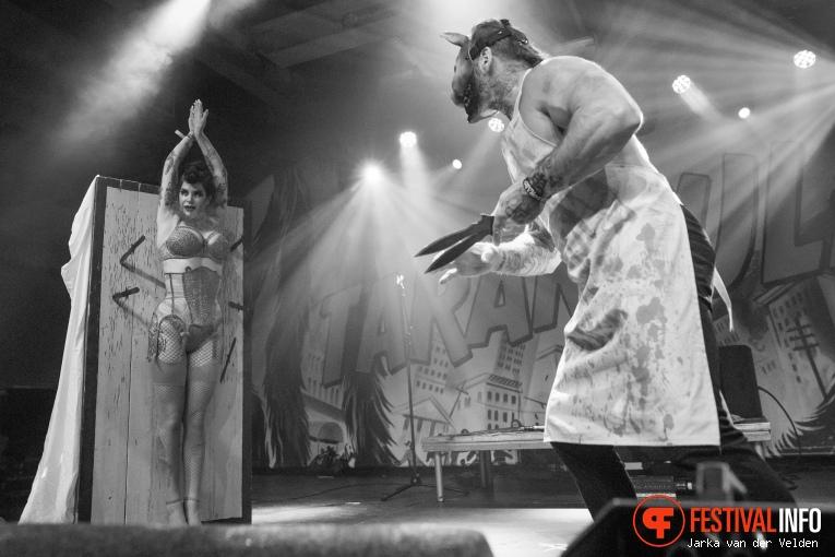 Death Do Us Part Danger Show op Helldorado 2017 foto