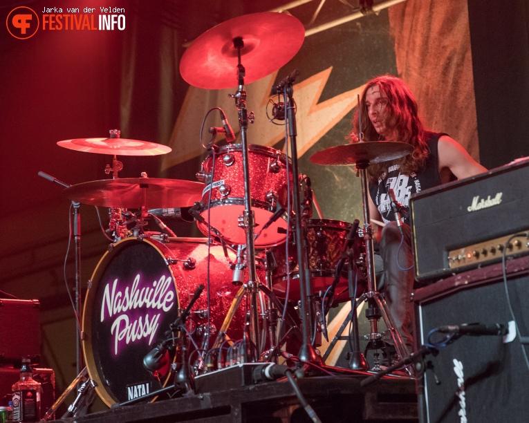 Nashville Pussy op Helldorado 2017 foto