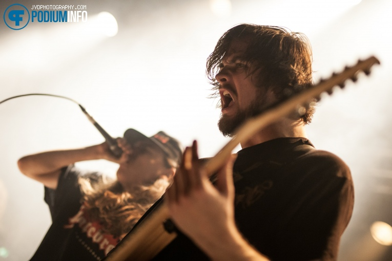 Foto Knocked Loose op Comeback Kid - 23/11 - De Helling