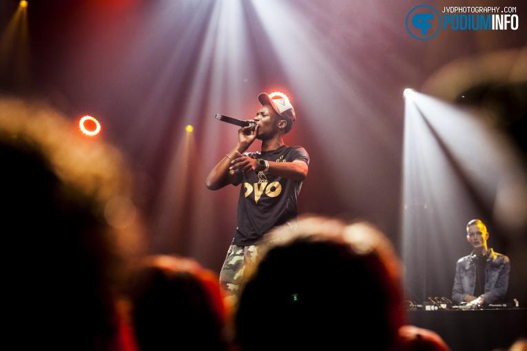 Sevn Alias op 3voor 12 Song Van Het Jaar -  8/12 - TivoliVredenburg foto