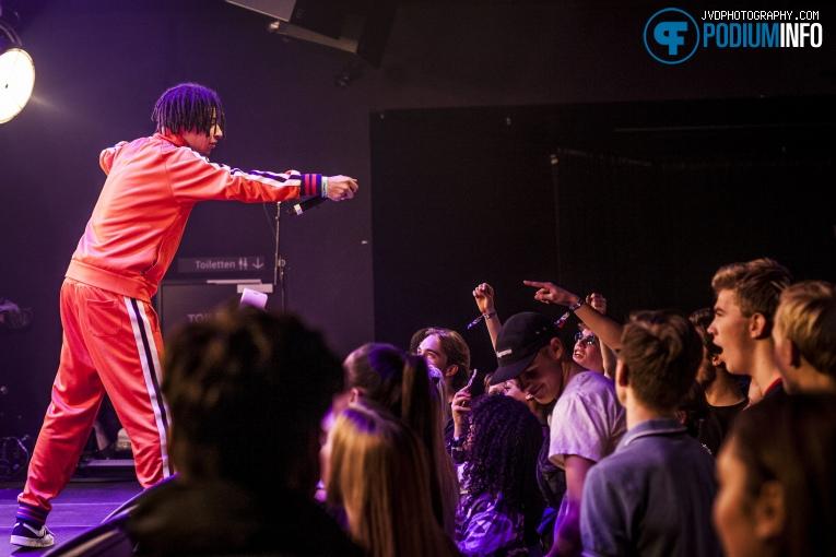 Foto Jacin Trill op 3voor 12 Song Van Het Jaar -  8/12 - TivoliVredenburg
