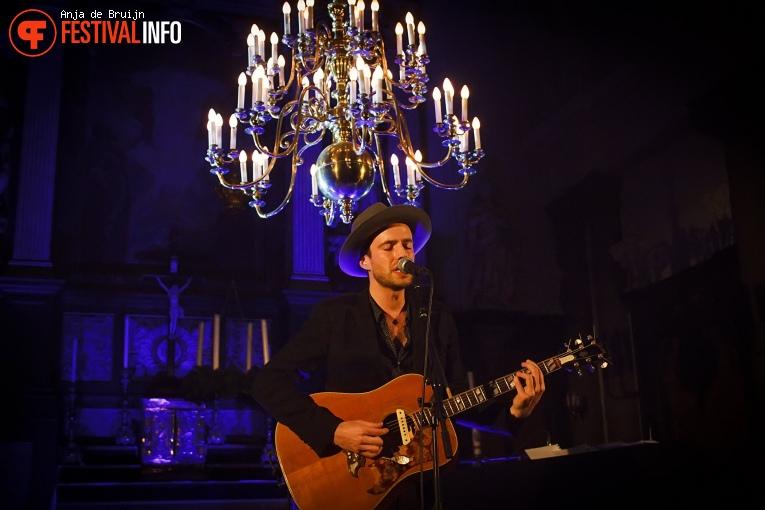 Foto Finn Andrews op Festival Stille Nacht (Rotterdam) 2017
