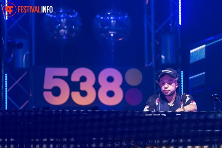 DJ Licious op 538JingleBall 2017 foto