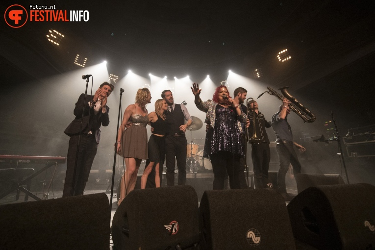 Foto Hannah Williams & The Affirmations op Eurosonic Noorderslag 2018 - donderdag