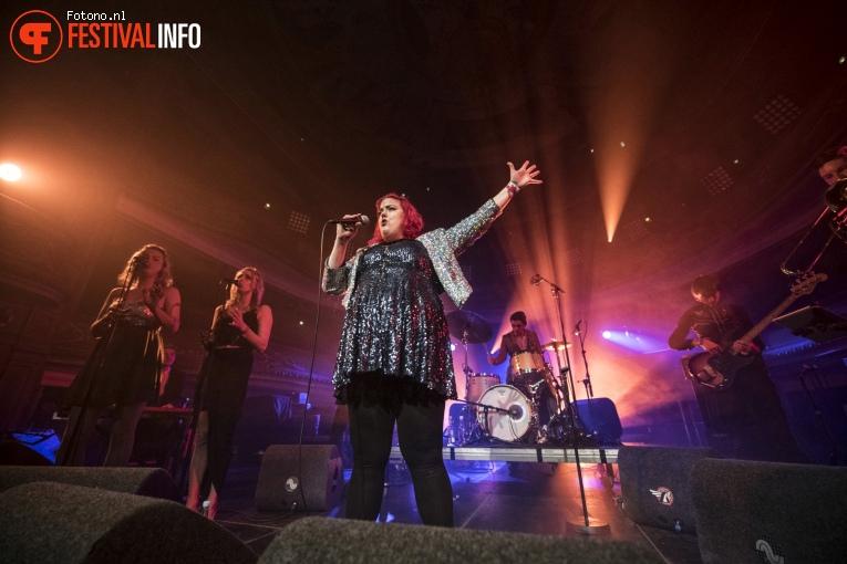 Hannah Williams & The Affirmations op Eurosonic Noorderslag 2018 - donderdag foto