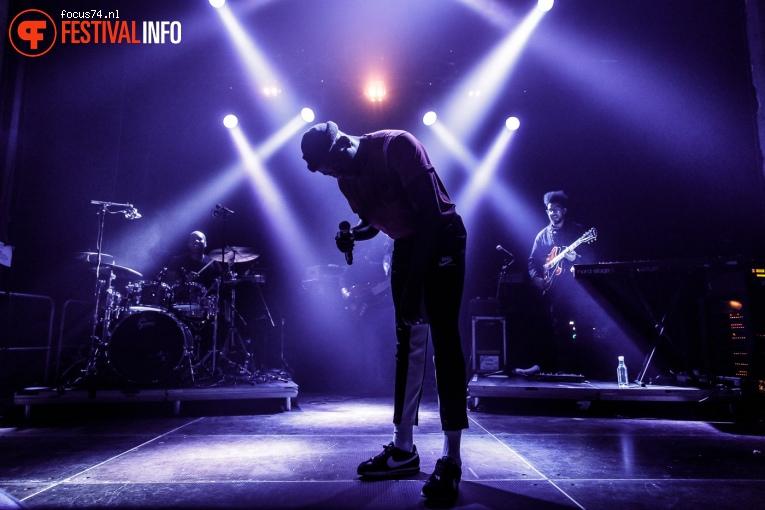 Foto Jacob Banks op Eurosonic Noorderslag 2018 - vrijdag
