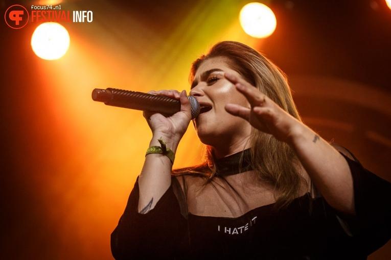 Foto Roxeanne Hazes op Eurosonic Noorderslag 2018 - Zaterdag