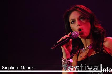 Belle Perez op Vrienden van Amstel Live 2008 foto