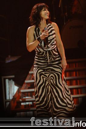 Ellen ten Damme op Vrienden van Amstel Live 2008 foto
