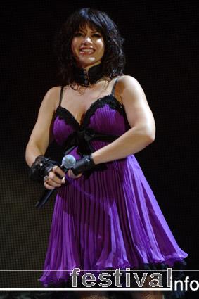 Foto Ellen ten Damme op Vrienden van Amstel Live 2008