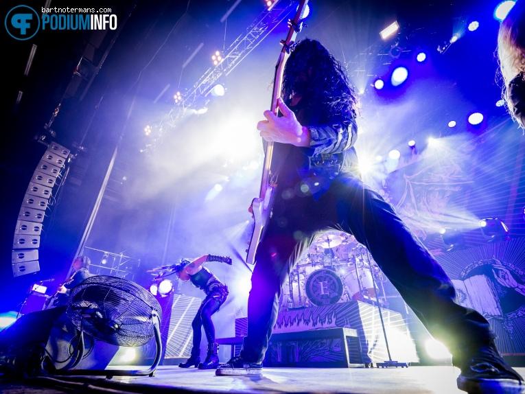 Arch Enemy op Arch Enemy - 28/1 - 013 foto