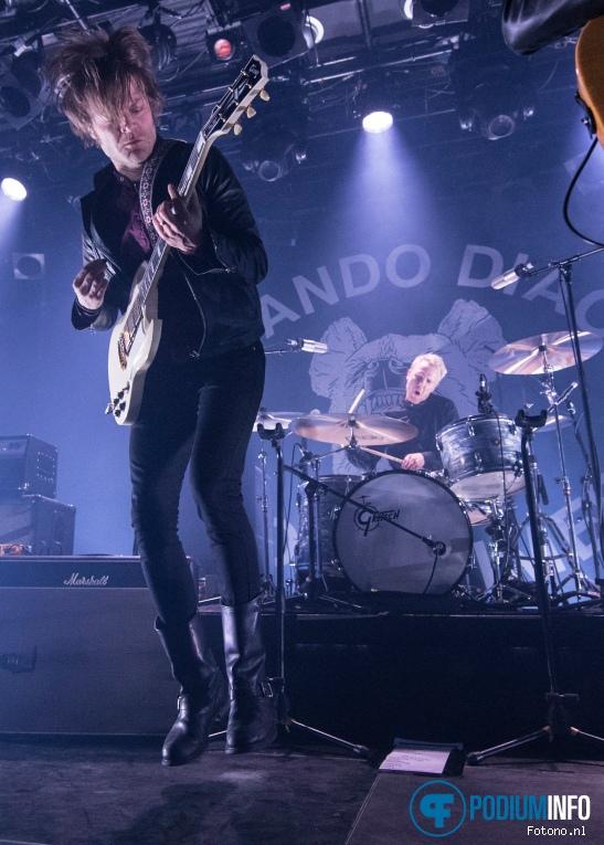 Foto Mando Diao op Mando Diao - 13/02 - Melkweg