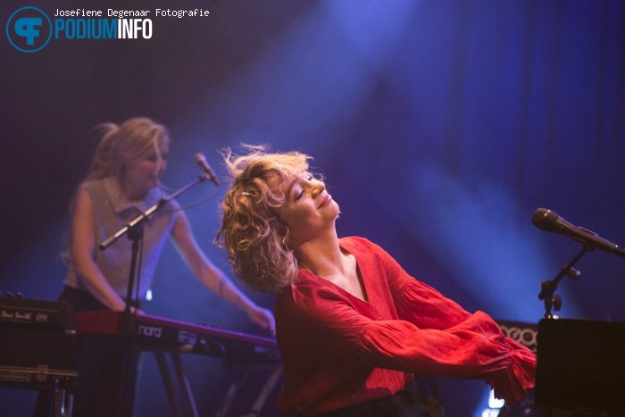Jacqueline Govaert op Jacqueline Govaert - 16/02 - TivoliVredenburg foto