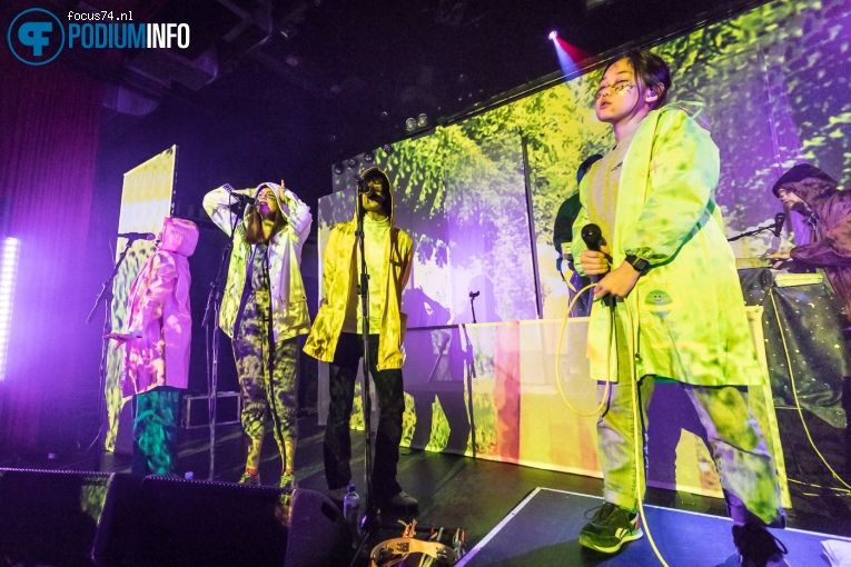 Foto Superorganism op Superorganism - 20/02 - Sugarfactory