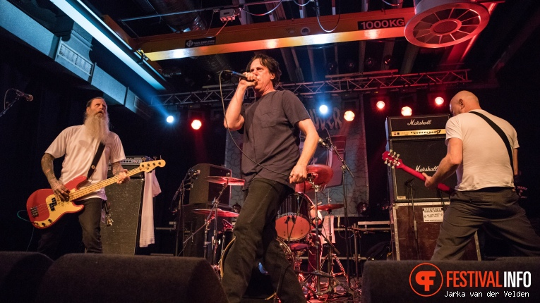 Negative Approach op Faster and Louder 2018 foto