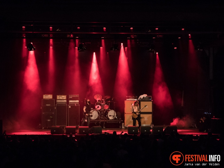 High On Fire op Faster and Louder 2018 foto