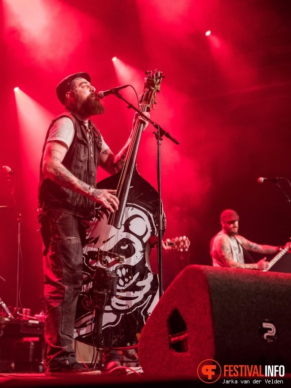 The Goddamn Gallows op Faster and Louder 2018 foto
