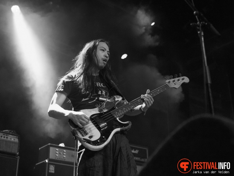 Swedish Death Candy op Faster and Louder 2018 foto