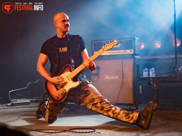 Foto Schirenc Plays Pungent Stench op Faster and Louder 2018
