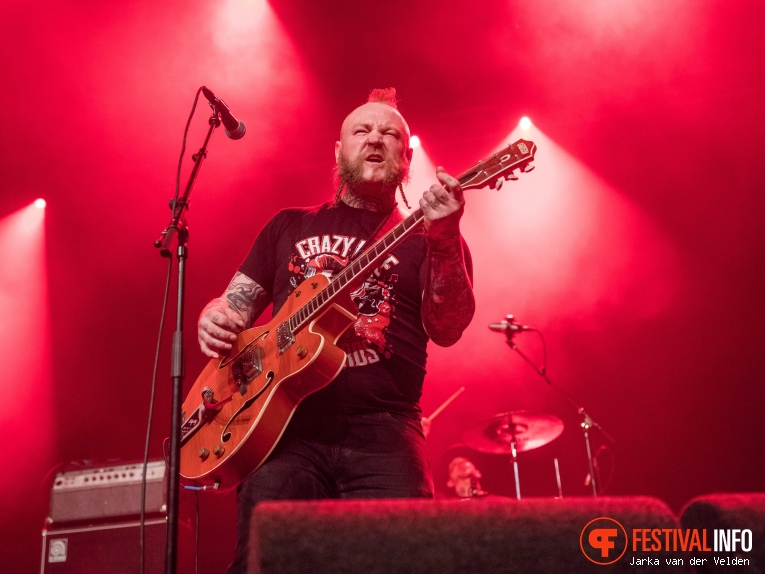 Foto The Goddamn Gallows op Faster and Louder 2018