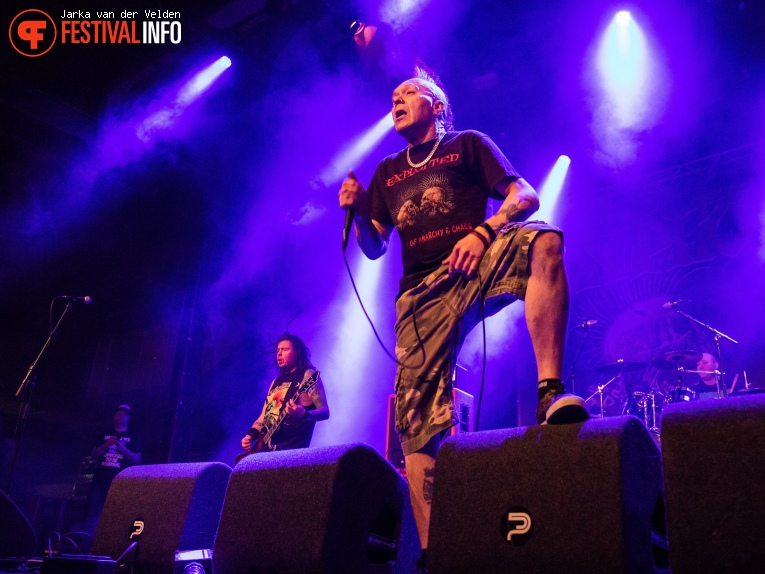The Exploited op Faster and Louder 2018 foto