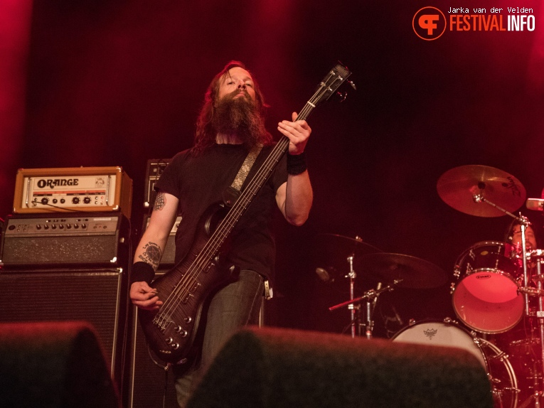 Foto High On Fire op Faster and Louder 2018