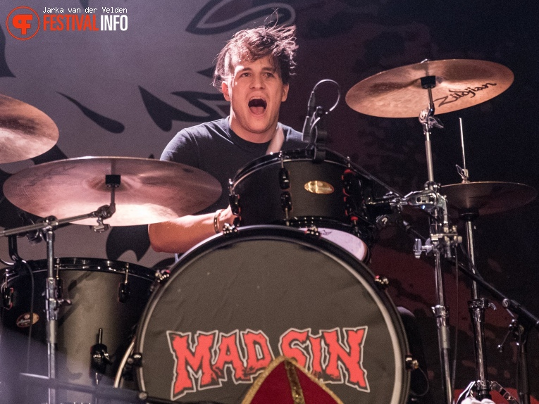 Mad Sin op Faster and Louder 2018 foto