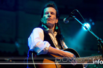 Willy DeVille op Willy DeVille - 15/02 - Paradiso foto