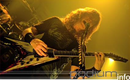 Megadeth op Megadeth - 15/02 - Hof ter Lo foto