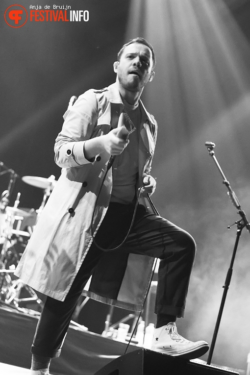 Everything Everything op Motel Mozaïque 2018 foto