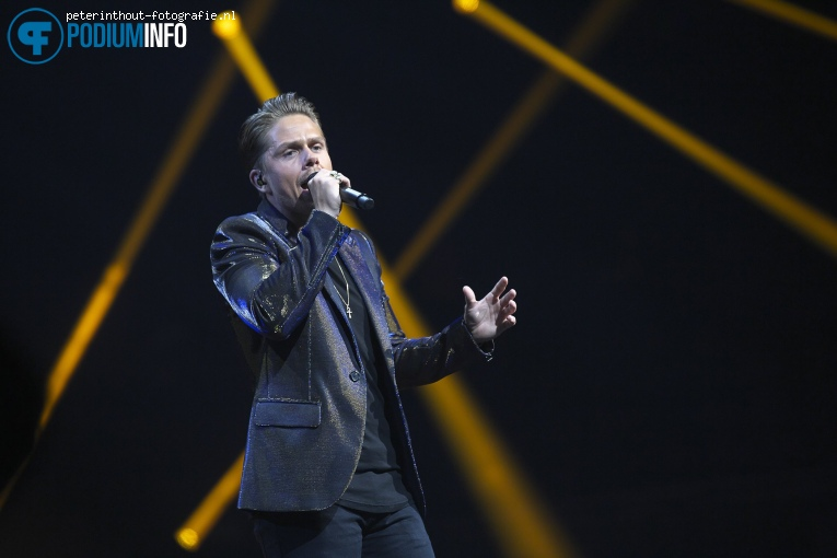 Andre Hazes Jr. op Holland Zingt Hazes - 20/04 - Ziggo Dome foto
