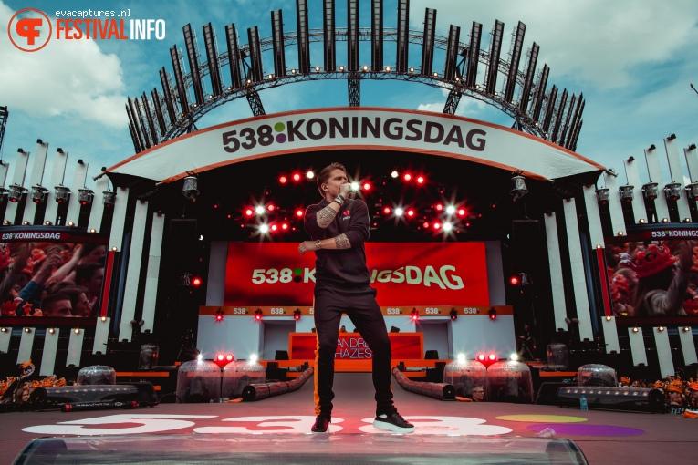 Andre Hazes Jr. op 538 Koningsdag 2018 foto