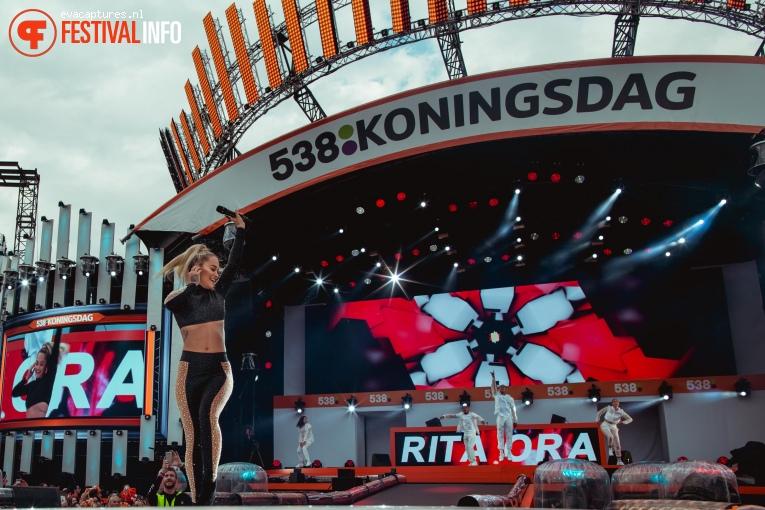 Rita Ora op 538 Koningsdag 2018 foto