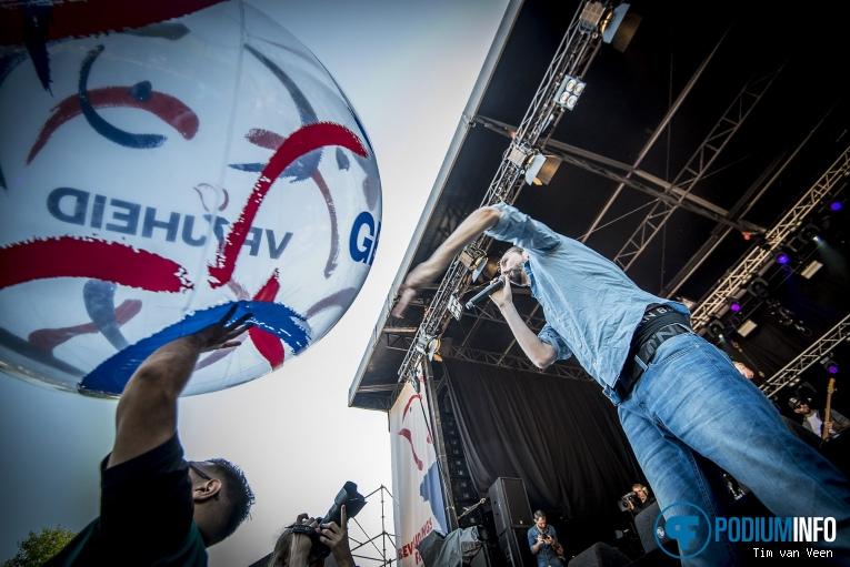 Big2 op Bevrijdingsfestival Utrecht 2018 foto