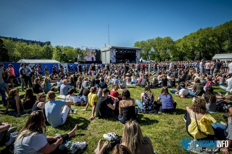 Roxeanne Hazes op Bevrijdingsfestival Utrecht 2018 foto
