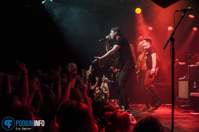 State Champs op State Champs + Knuckle Puck - 22/05 - Melkweg foto