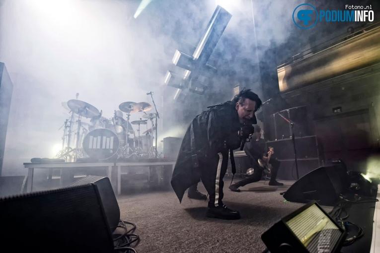Foto Marilyn Manson op Marilyn Manson - 30/05 - Philharmonie Haarlem