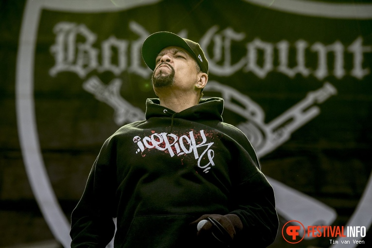 Foto Body Count feat. Ice-T op Fortarock Vrijdag 2018