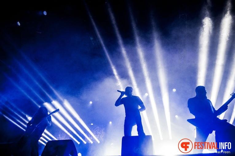 Meshuggah op FortaRock 2018 Zaterdag foto