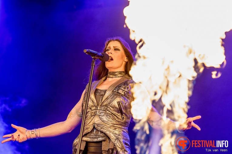 Nightwish op FortaRock 2018 Zaterdag foto