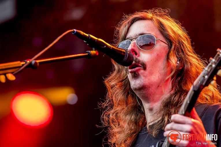 Opeth op FortaRock 2018 Zaterdag foto
