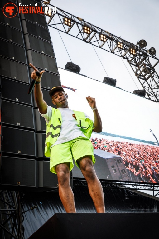 Foto Tyler, The Creator op Best Kept Secret 2018 - dag 1